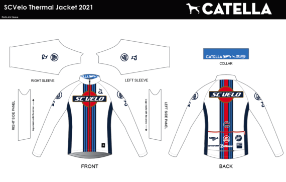 SC VELO 2021 THERMAL JACKET
