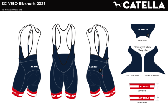 SC VELO ELITE 2021 BIBSHORTS